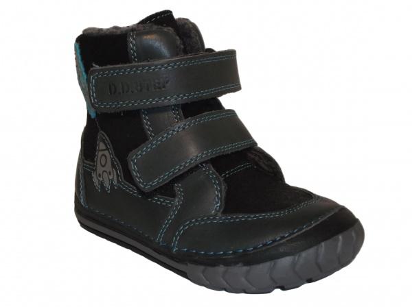 44bd78982ea1a D.D.Step - 029-303A blue, chlapčenská zimná obuv | Detská obuv ...