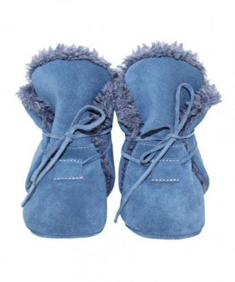 Zvětšit BABICE kožené zimné topánočky - NBW-103