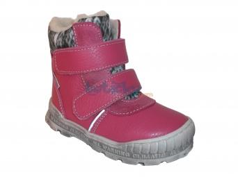 Zvětšit Pegres - 1702 ružová, zimná obuv, 01