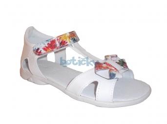 Zvětšit Kornecki 4752 biele, dievčenské letné sandále