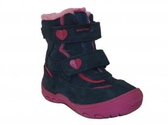 Zvětšit Protetika - Diana blue, dievčenská zimná obuv