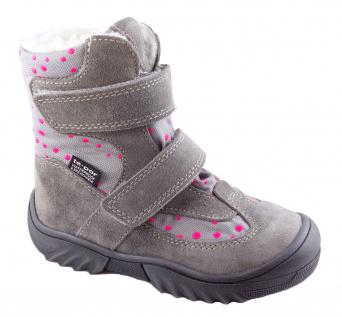 Zvětšit JONAP - J024/S sivá puntík, dievčenská zimná obuv s membránou