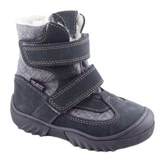 Zvětšit JONAP - J024/S sivá, 01 chlapčenská zimná obuv s membránou