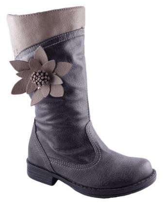 Zvětšit Kornecki 4593 GRAFIT, dievčenská zimná obuv