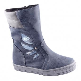 Zvětšit Kornecki 4821 GRANAT, dievčenská zimná obuv