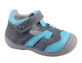 Zvětšit D.D.Step - 015-146 sivá chlapčenská jarná obuv