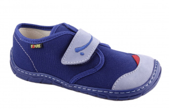 Zvětšit Fare 5211402 modrá, celoročná obuv barefoot