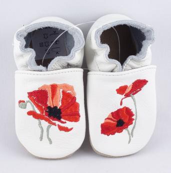 Zvětšit BABICE kožené topánočky - EM-041
