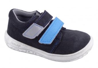Zvětšit Jonap J-B1/S/V sivá/tyrkys, celoročná obuv BAREFOOT