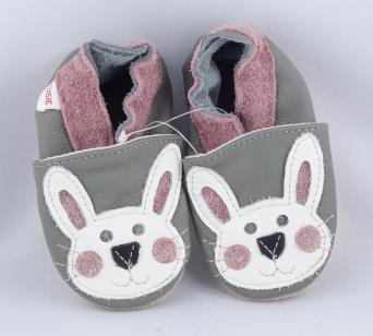Zvětšit FIORINO ekoTUPTUSIE kožené topánočky - KRÁLÍK