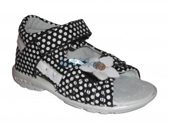 Zvětšit Kornecki 3969 CZARNY, detské letné sandále